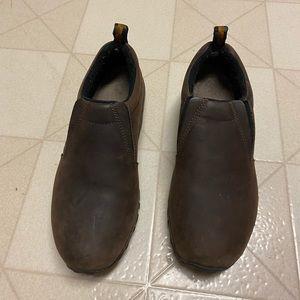 Merrell Jungle Moc Nubuck Brown Shoes size 8